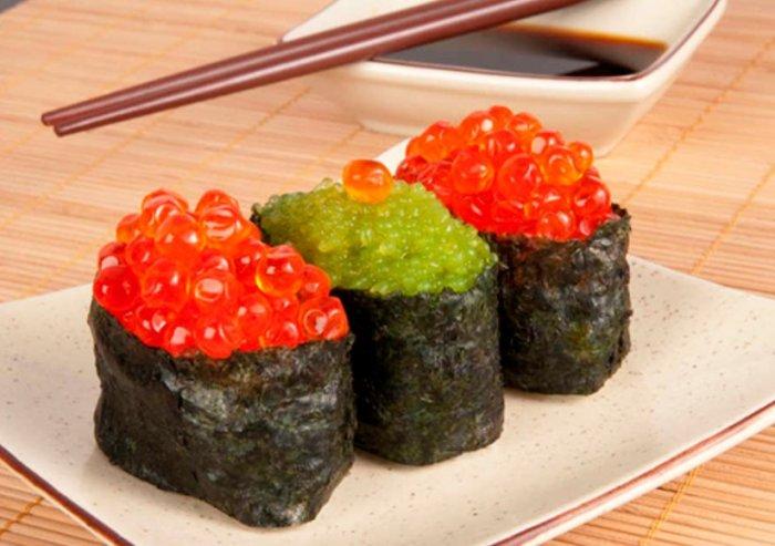 Гункан-суши: сочетание изысканного вкуса и оригинальной формы